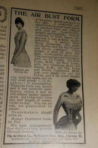 """""""The Air Bust Form gives grace, health and style to any lady."""""""