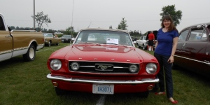 Canada Day: Red Mustang