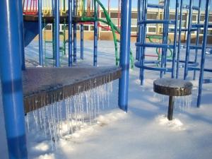 Ice on Playground 7