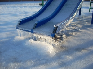 Ice on Playground 5