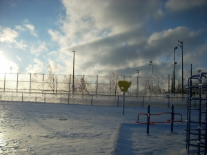Ice on Playground 6