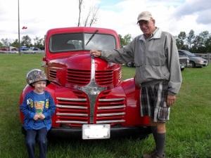Grandpa and the Tractors