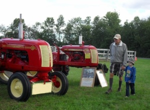 Grandpa and the Tractors 2