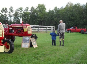Grandpa and the Tractors