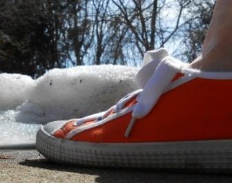 Orange Sneaker
