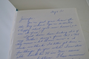 What I'm Reading: A collection of  memories written for me by my Grandmother