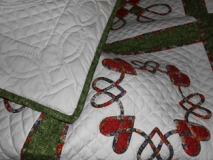 Nana's Celtic Quilt (same pattern as the one we made for my brother)