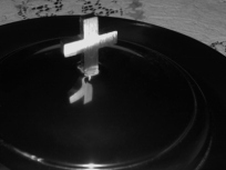 "Ritual: Ritual: ""Faith is not knowledge of an object but communion with it."" - Nicolás Gómez Dávila"