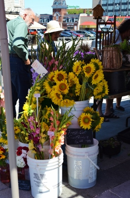 Sunflowers at Market