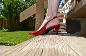 "Wearing a Favourite: ""To wear dreams on one's feet is to begin to give reality to one's dreams."" - Roger Vivier"