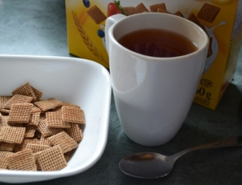 """My Morning: """"A cup of tea would restore my normality."""" – Douglas Adams, Hitchhiker's Guide to the Galaxy, Screenplay"""