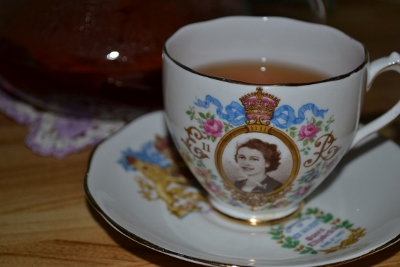 Queen Elizabeth Tea Cup