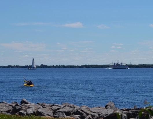 Three boats afloat