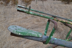 Old Metal Teeter-totters