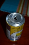 Punctured can
