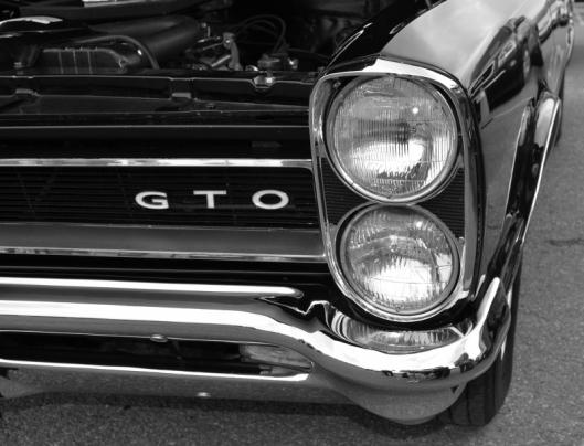 1969 Black Mustang GTO
