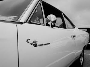 Classic Mustang (b/w)