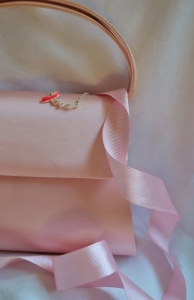 Pink Ribbon-Pink Purse