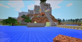 """Our """"Poppy Castle"""" -from the front"""