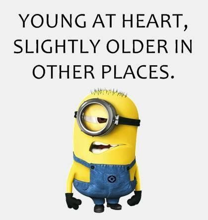 minion - young at heart