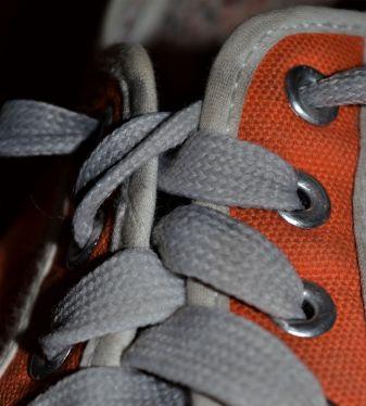Orange shoe 2