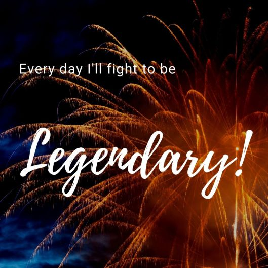 Every day I'll fight to be