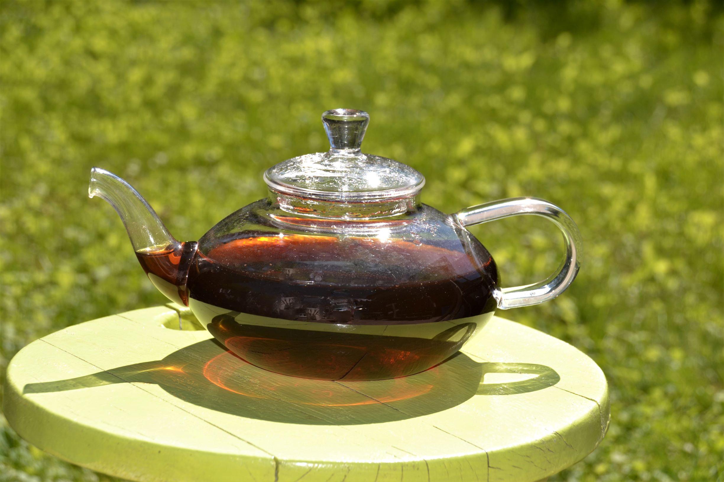 Iced tea - hot