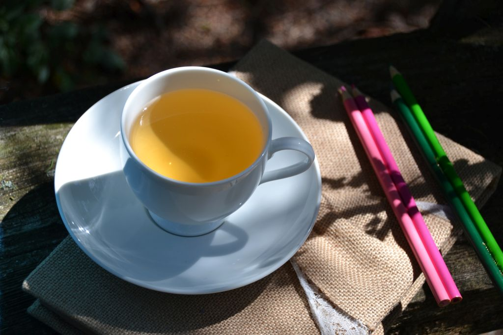Ginger tea with pencils_ed